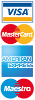 Mastercard, Maestro and VISA