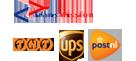Transmission, TNT, postNL, UPS