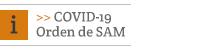 COVID-19: Orden de SAM